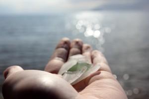 sea glass in scotland